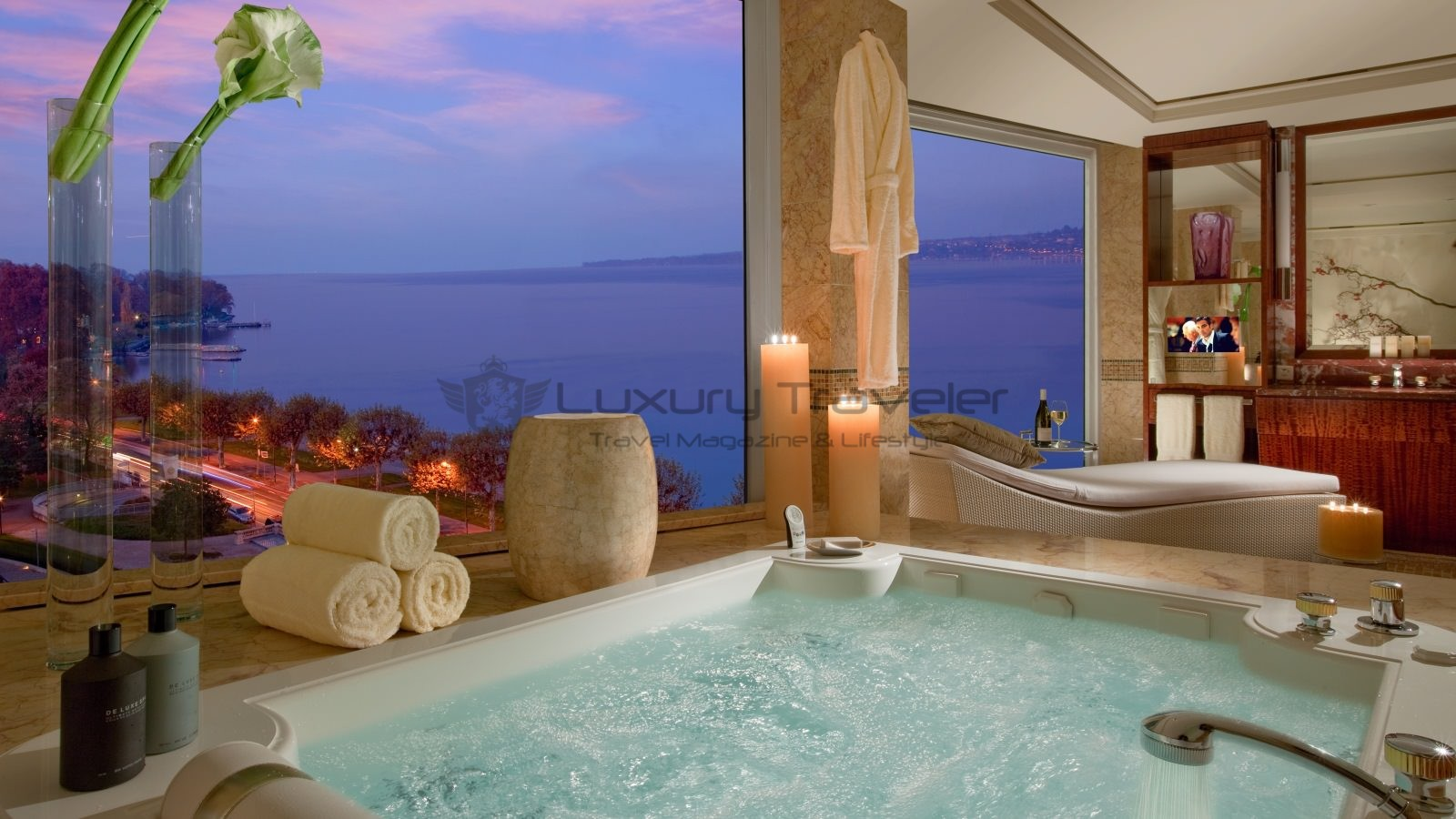 Most expensive bathrooms in the world - Hotel President Wilson Suite Bathroom_luxury