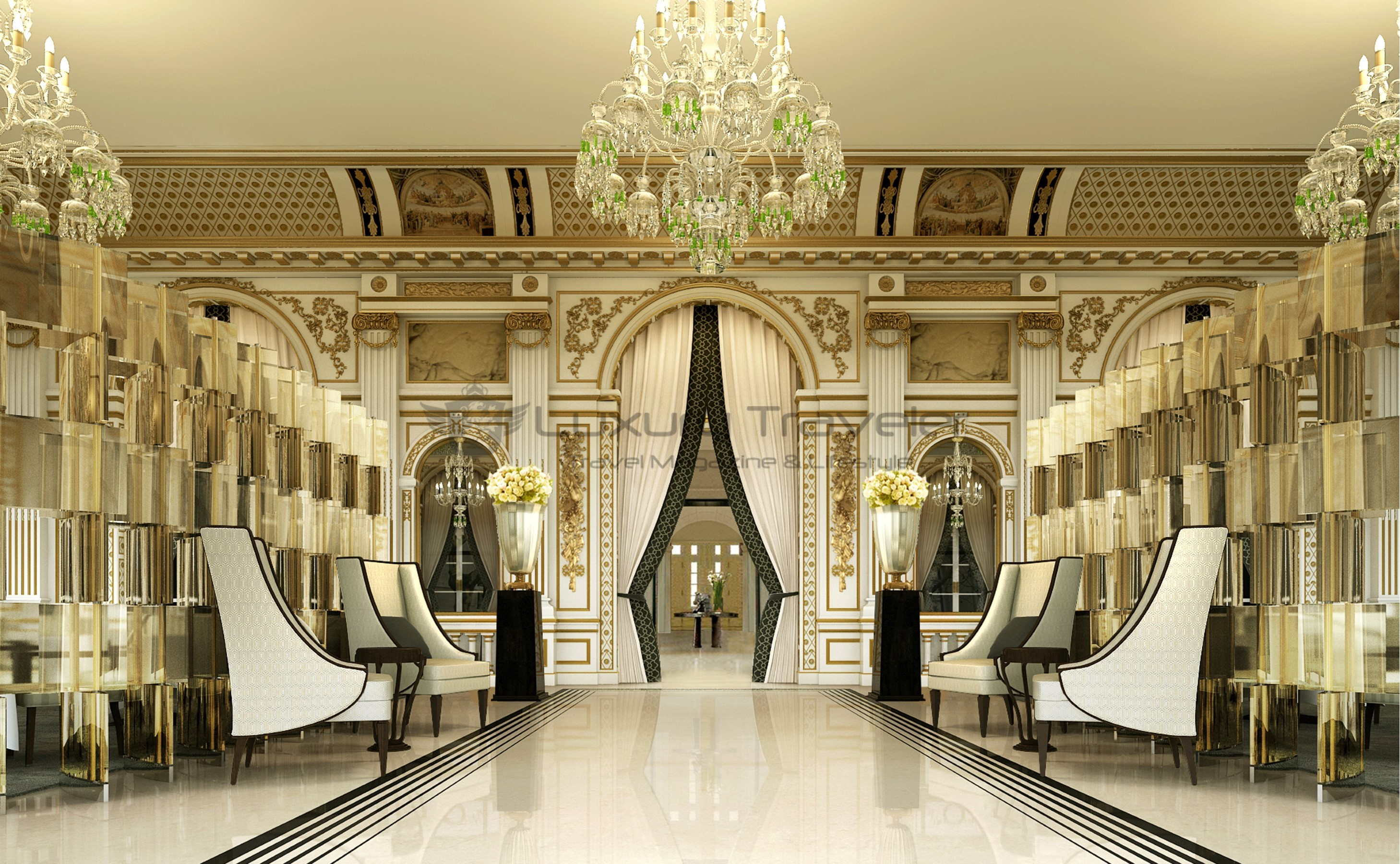 The peninsula luxury 5 star hotel paris luxury traveler for Hotel paris design