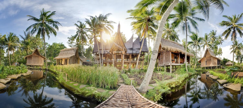 Bambu indah ubud bali luxury eco resort luxury traveler for Ubud boutique accommodation