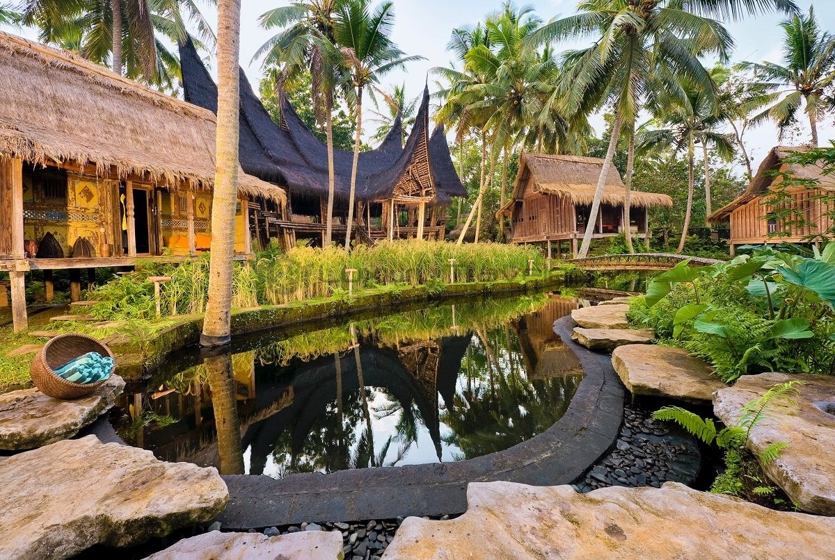 Bambu indah ubud bali luxury eco resort luxury traveler for Design boutique hotel ubud