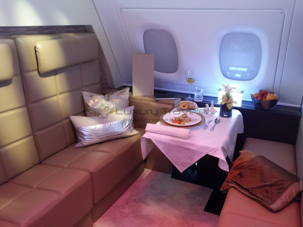 Etihad Airways: The Residence - The Flying Apartment