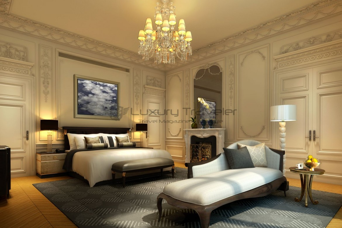The peninsula luxury 5 star hotel paris luxury traveler for 5 star bedroom designs