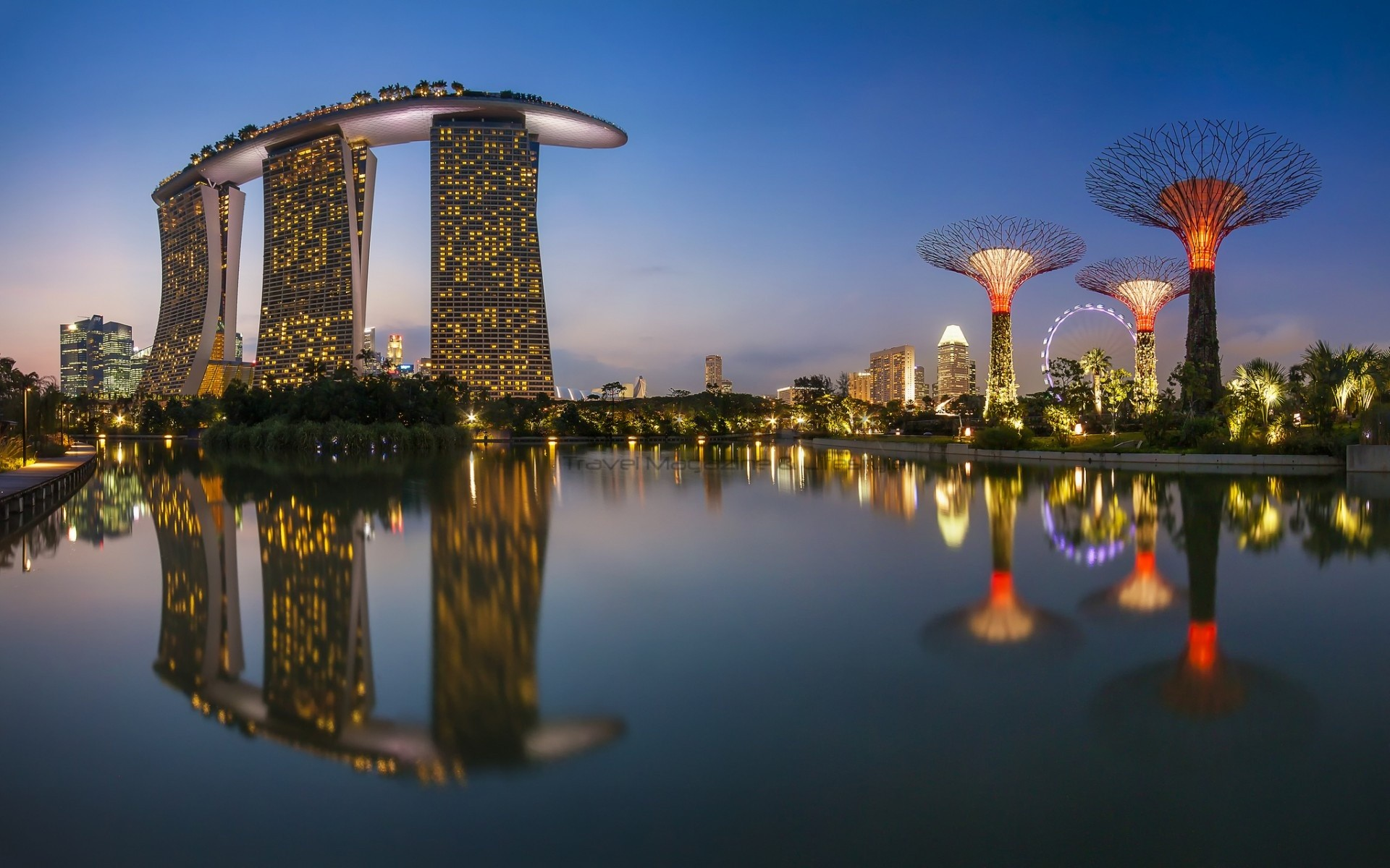 Marina Bay Sands Singapore - Outstanding Luxury Hotel ...