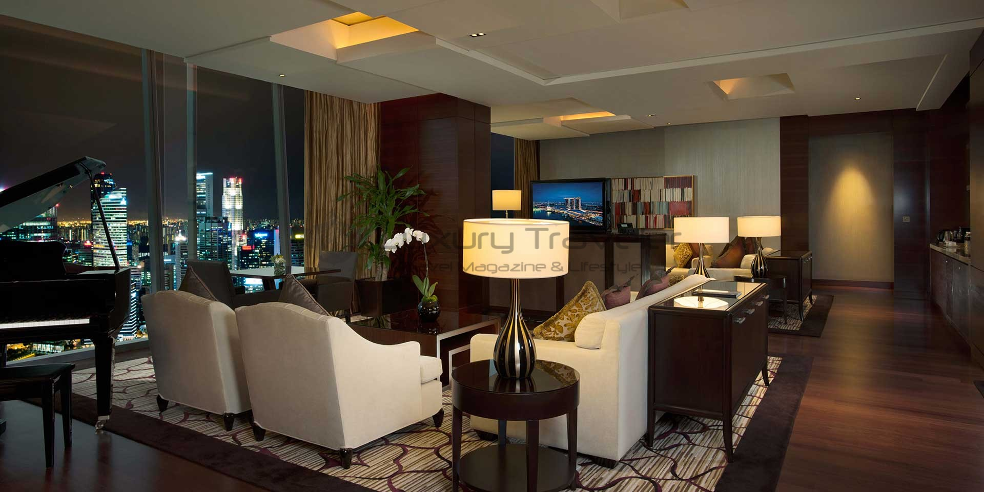Marina bay sands singapore outstanding luxury hotel for Lounge room suites