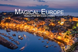 Magical Europe Timelapse