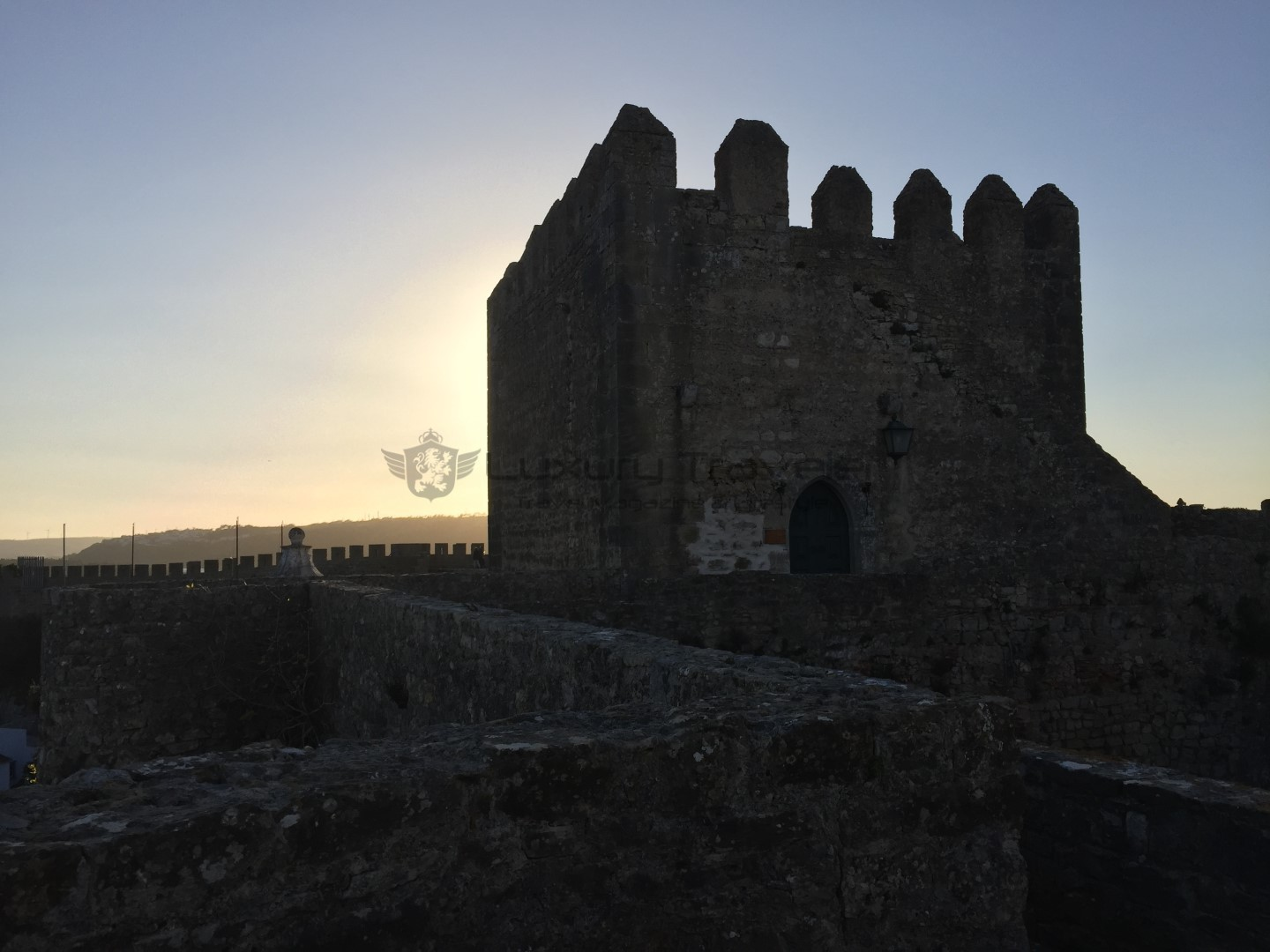 Obidos_Castle_Pestana_Hotel_Sunset