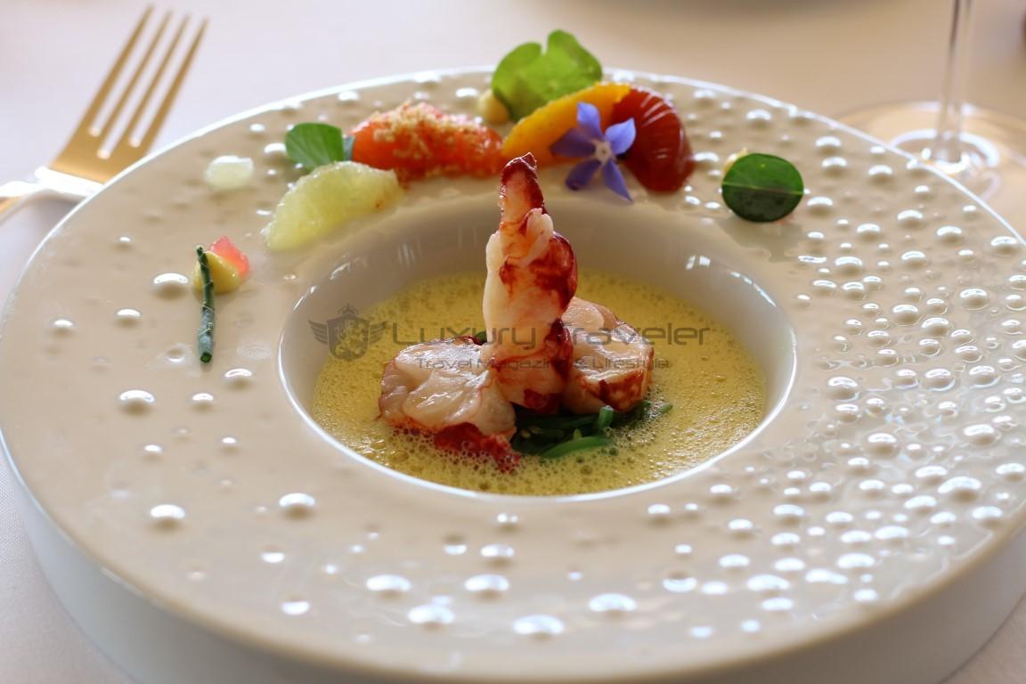 Michelin_Restaurant_Vila_Joya_Menu_Seafood