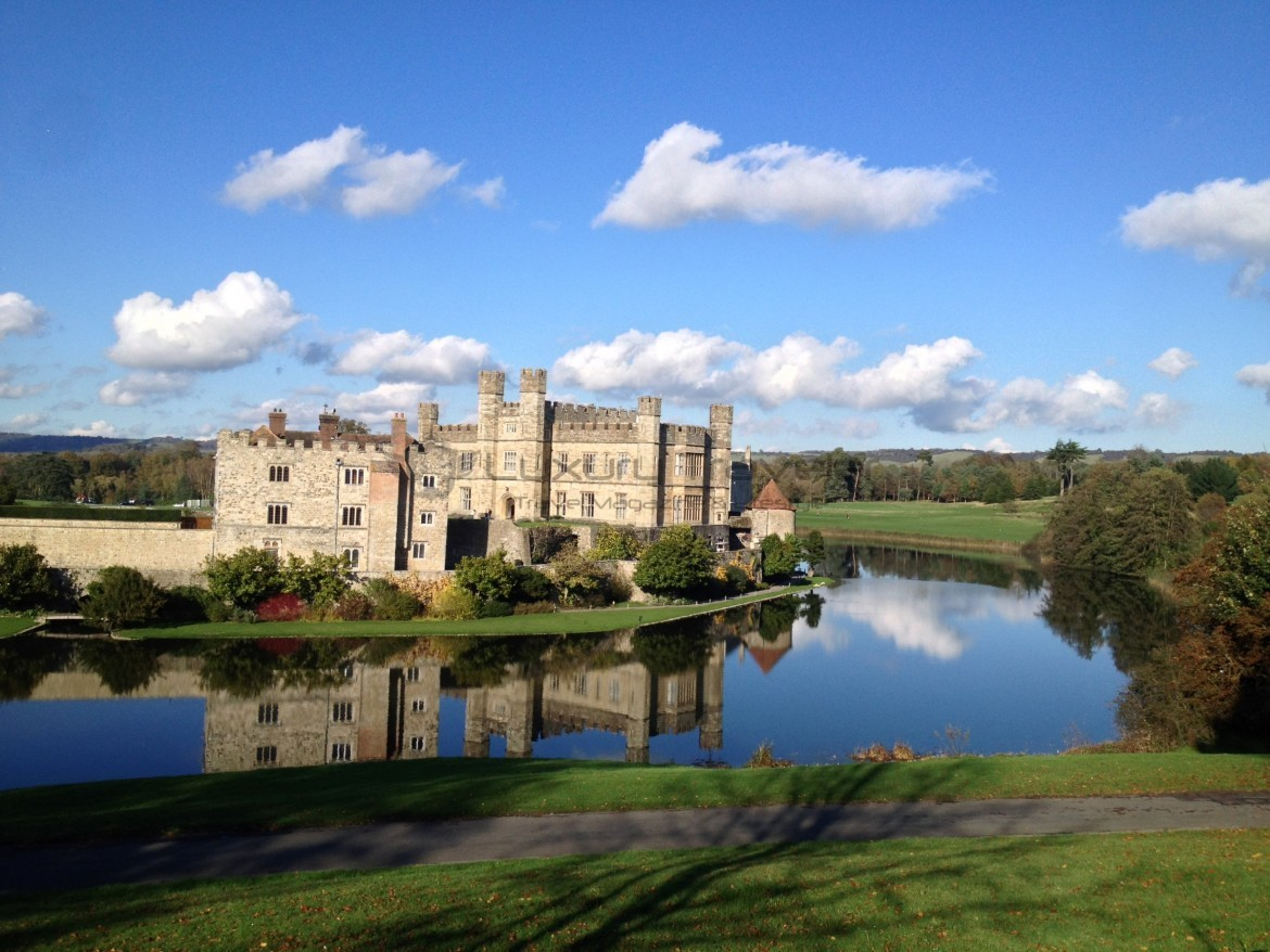 Leeds Castle Maidstone Kent Uk The Loveliest Castle