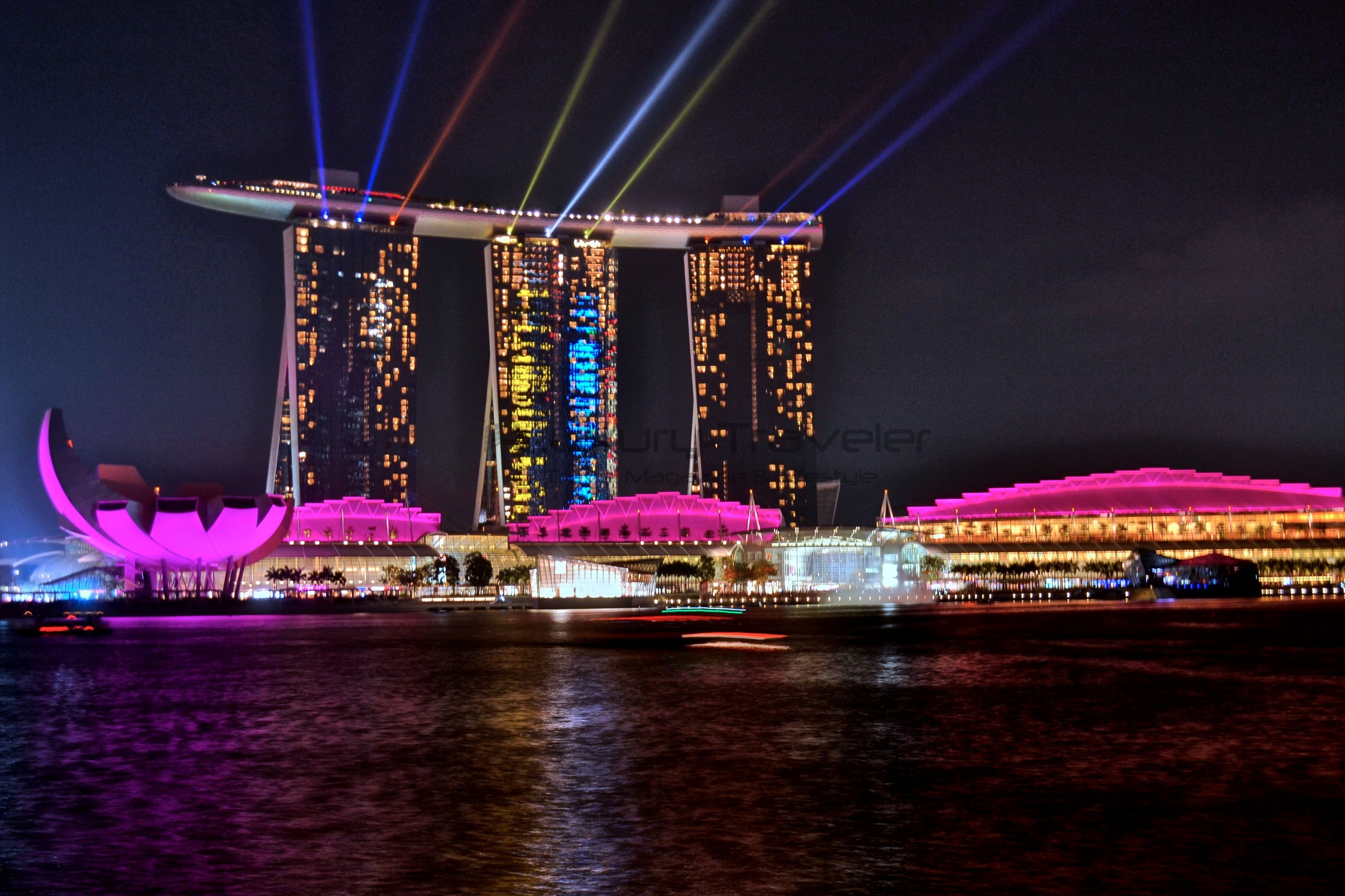 Marina Bay Sands Singapore Outstanding Luxury Hotel